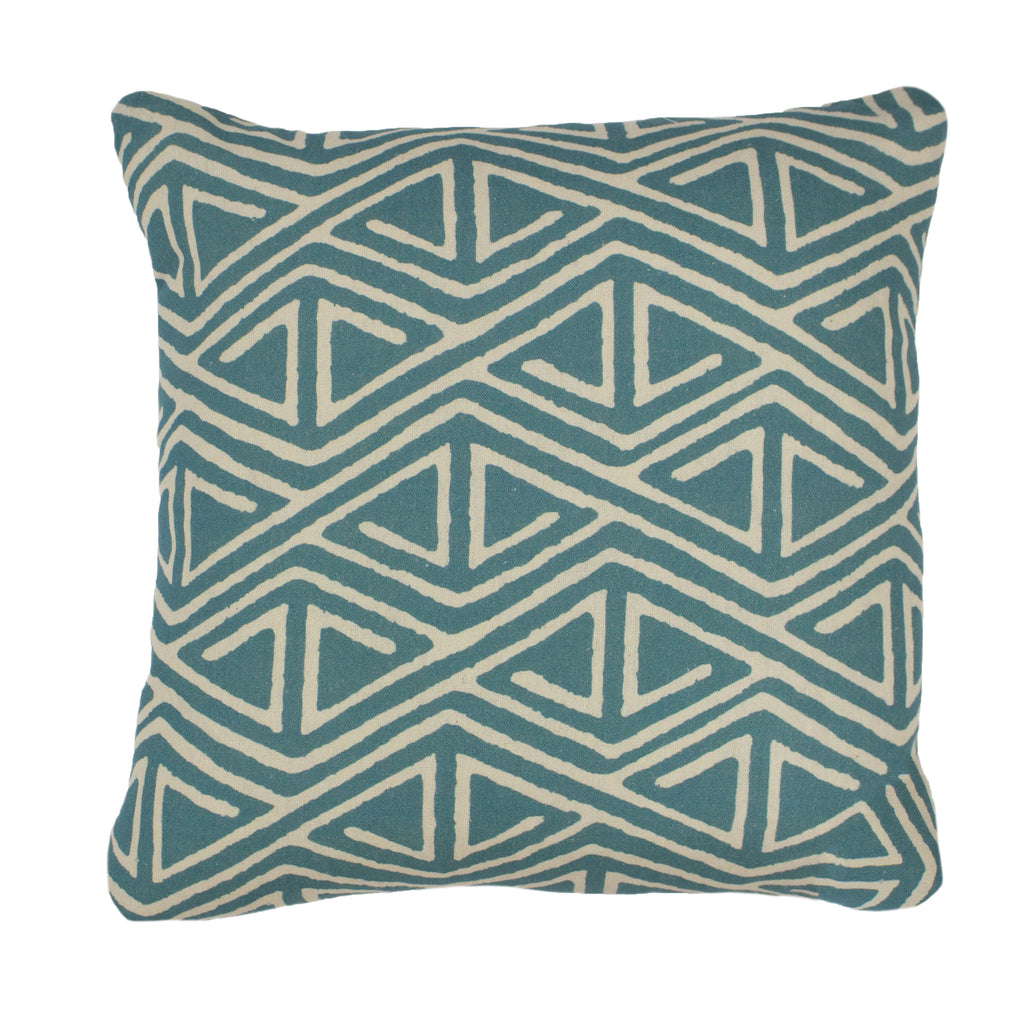 Rocco Cushion in Teal