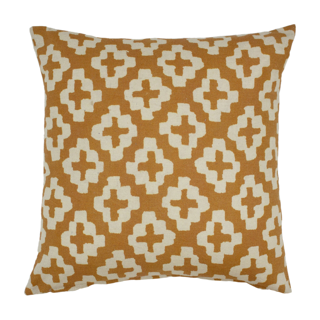 Rocco Cushion in Mustard