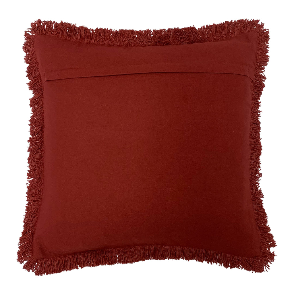 Sienna Cushion in Brick