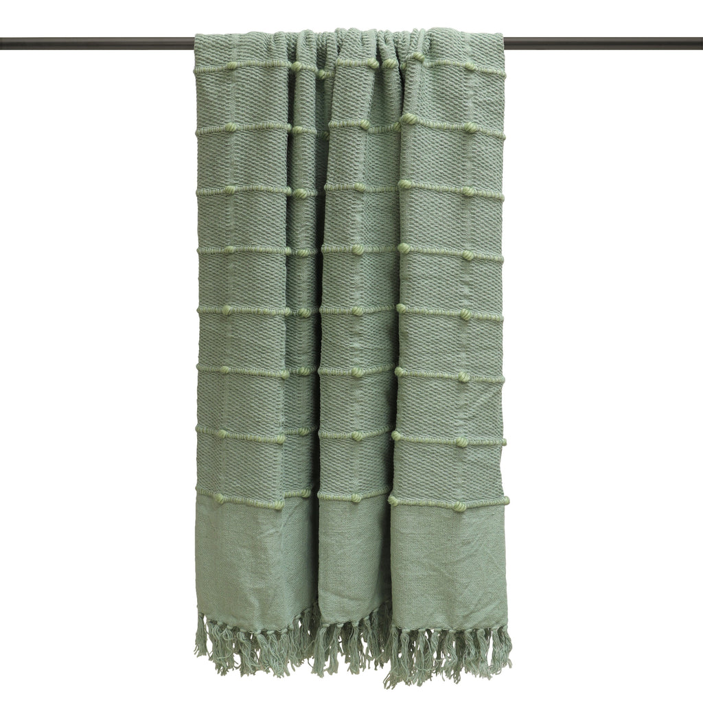 Motti throw in Seafoam