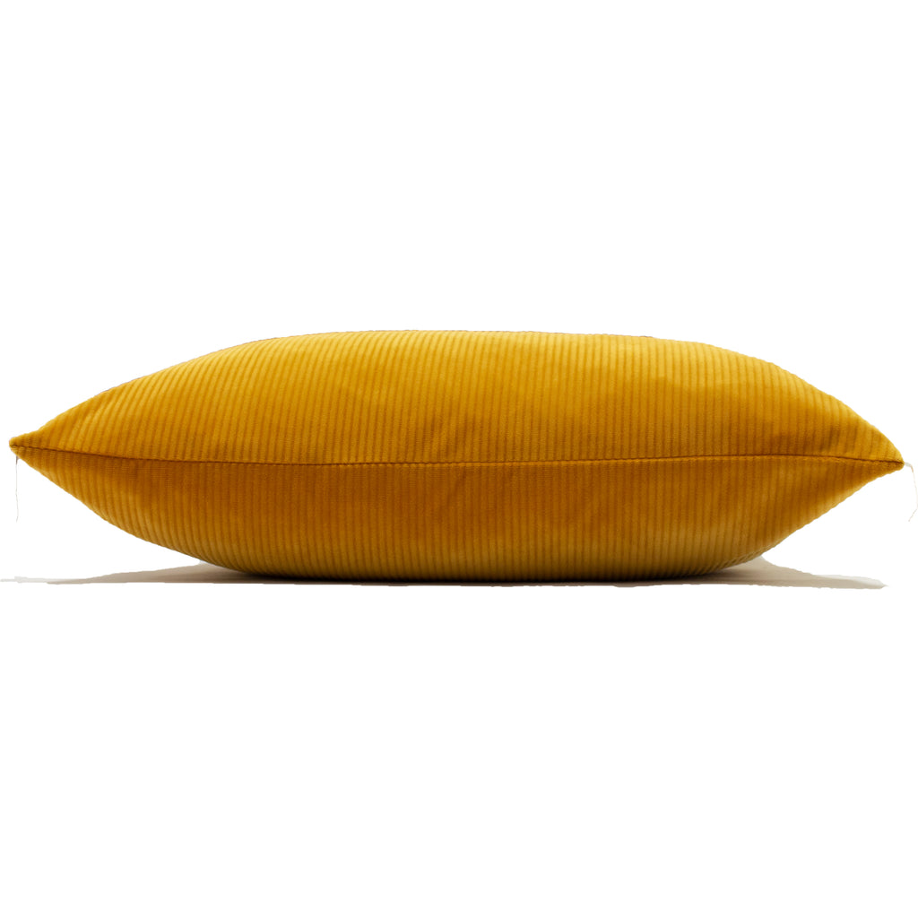 Aurora Cushion in Ochre