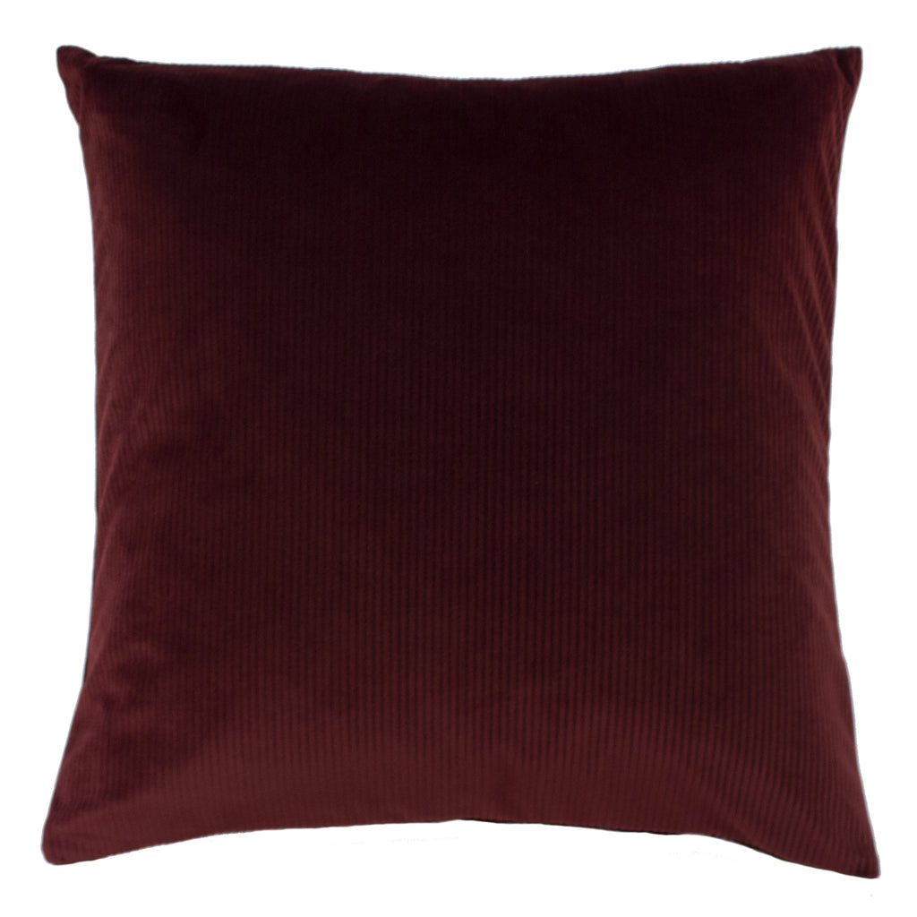 Aurora Cushion in Ox Blood