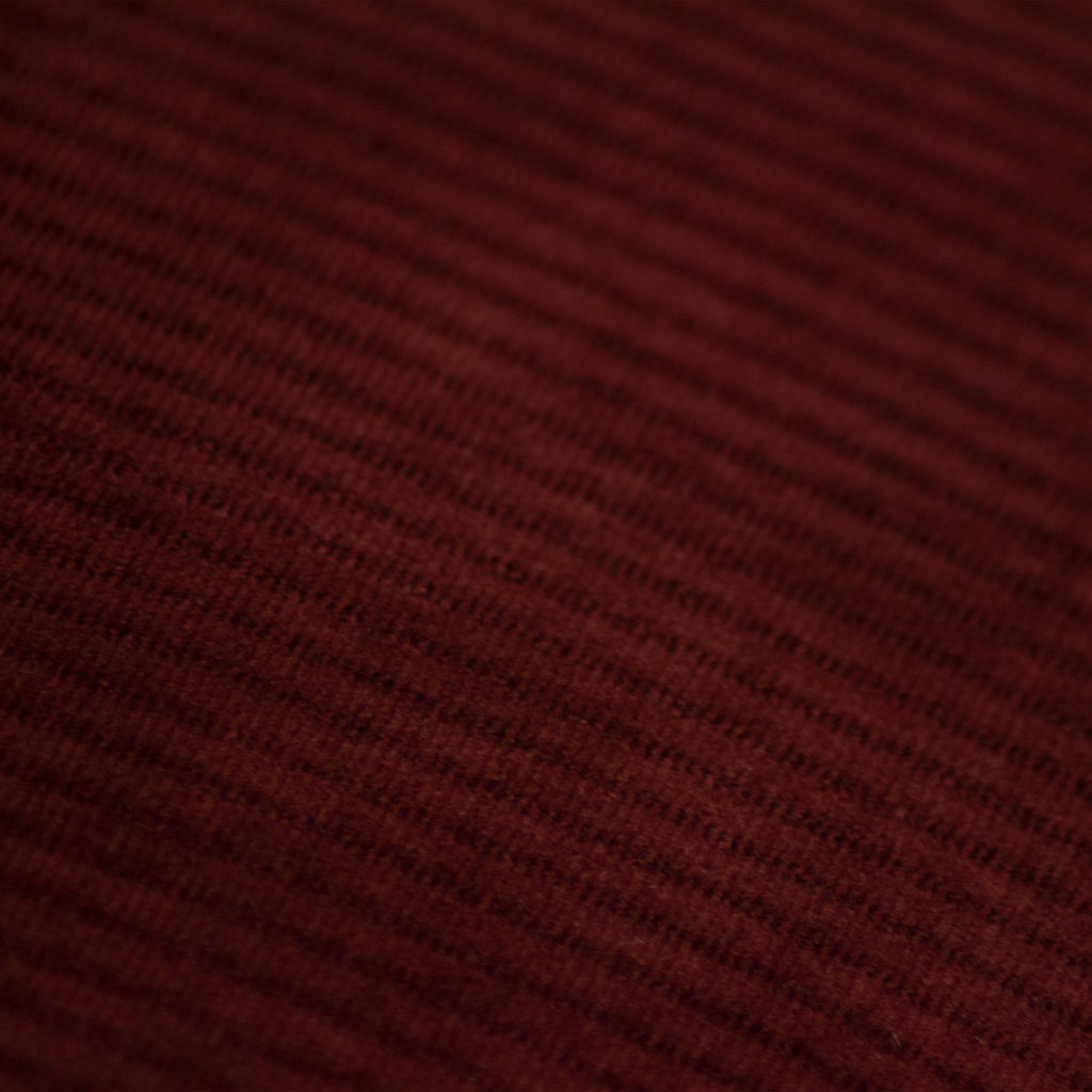 Aurora Velvet Cushion in Ox Blood