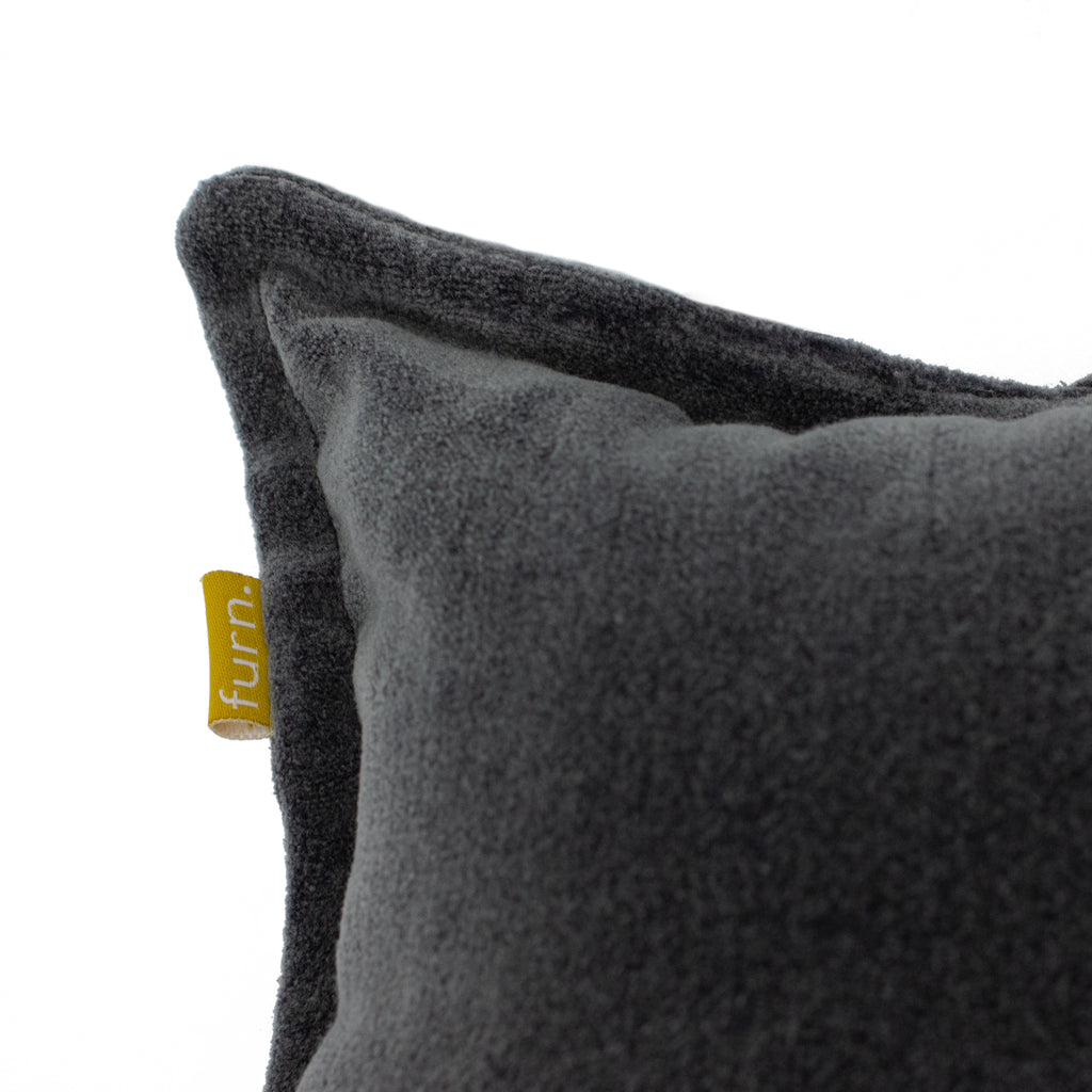 Bobble Cushion in Charcoal