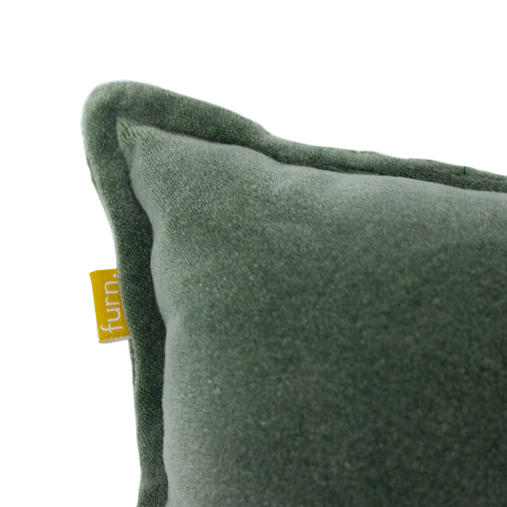 Bobble Cushion in Sage