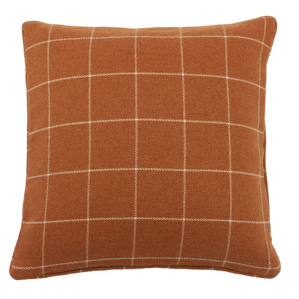 Ellis Cushion in Burnt Orange