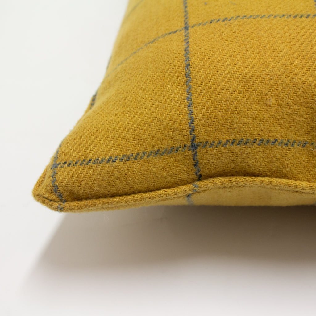 Ellis Cushion in Ochre