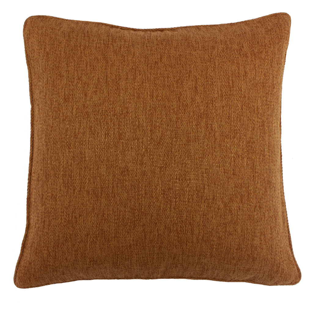 Harrison Cushion in Burnt Orange