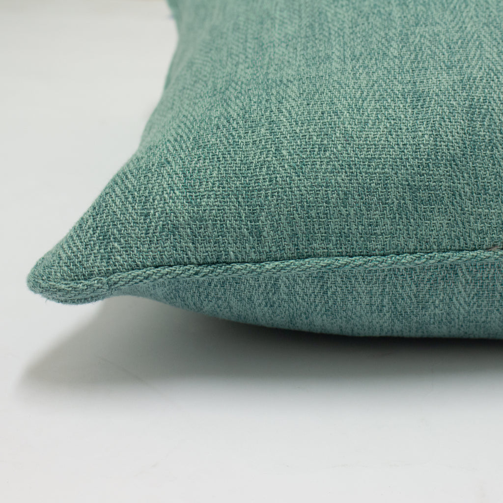 Harrison Cushion in Marine Blue