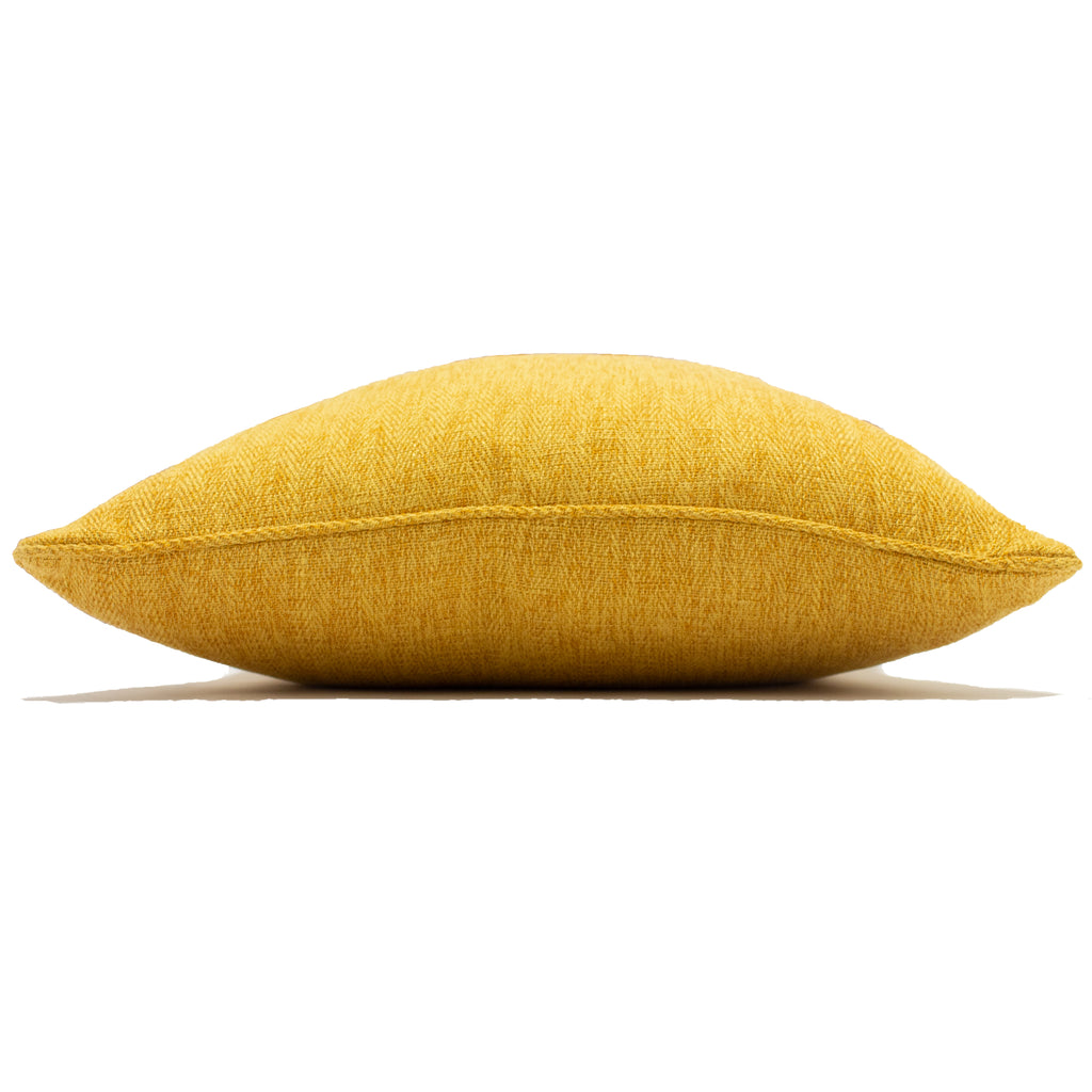 Harrison Cushion in Ochre