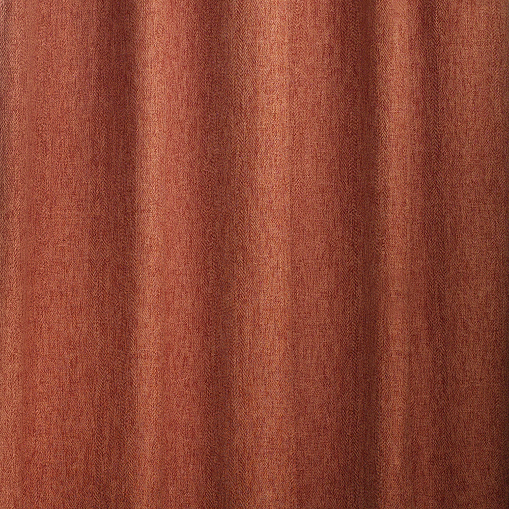 Harrison Pencil Pleat Curtains in Burnt Orange