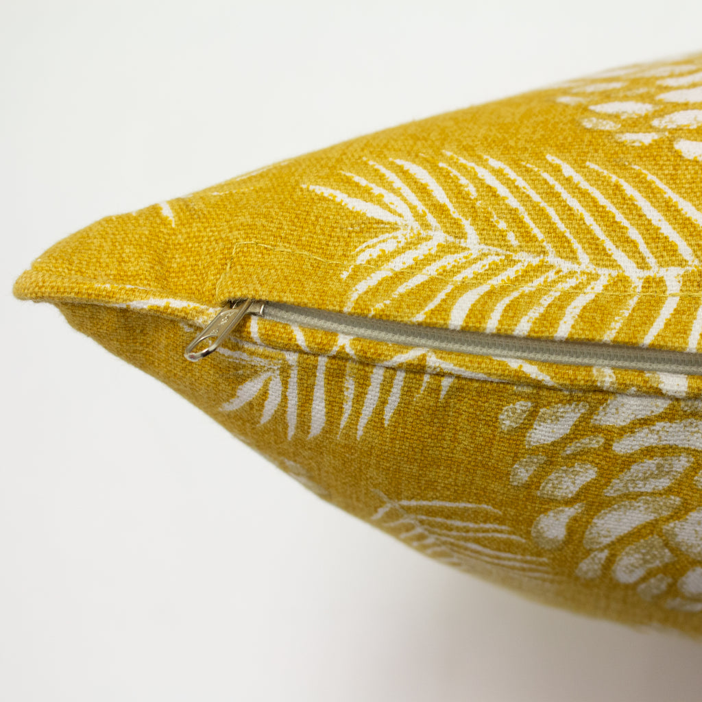 Irwin Cushion in Mustard