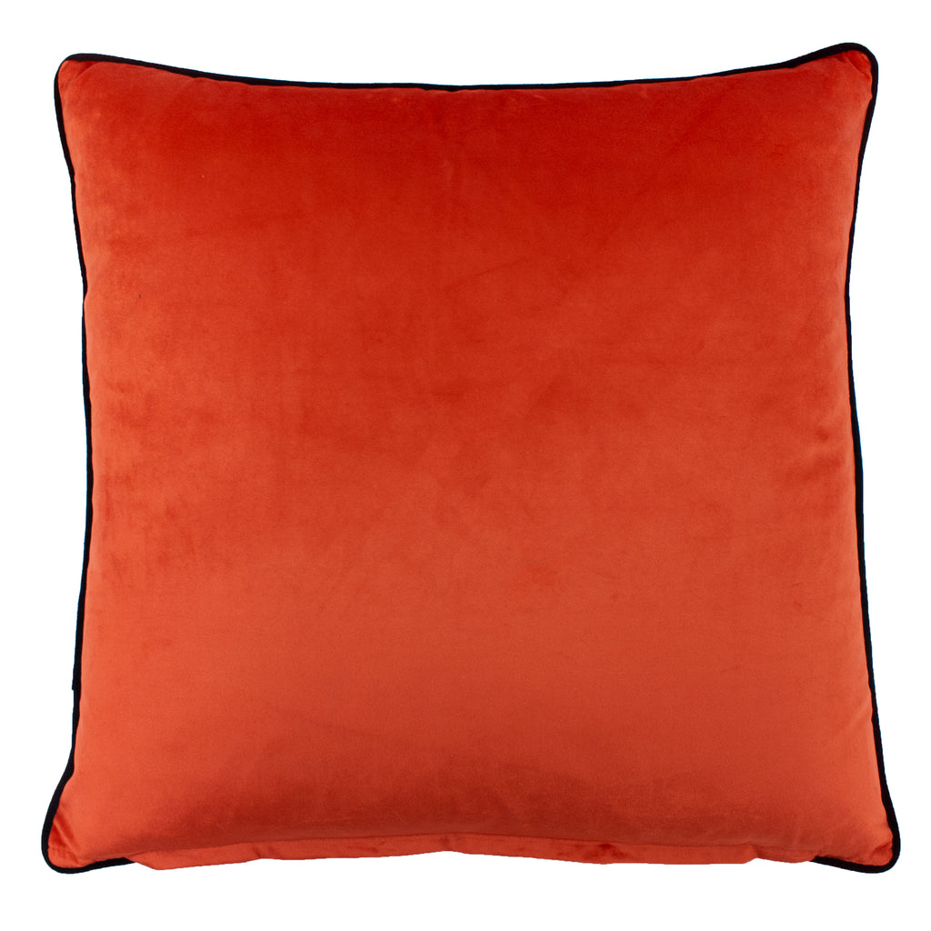 Mika Cushion in Blue/Terracotta