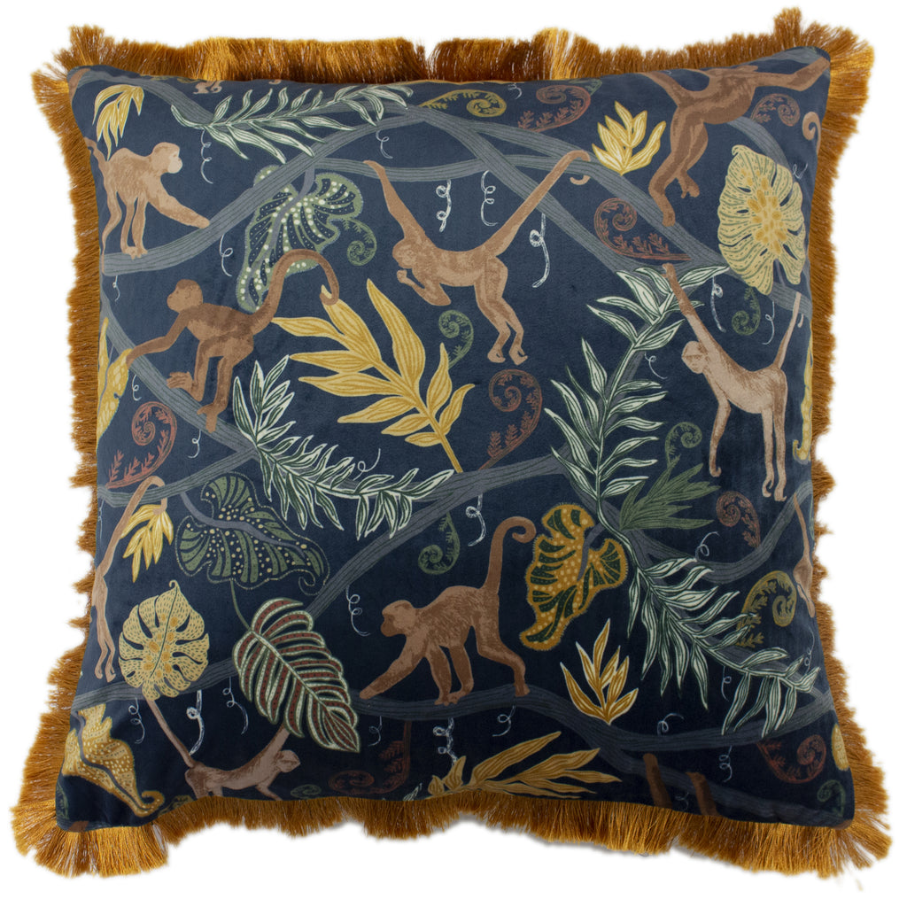 Monkey Forest Cushion