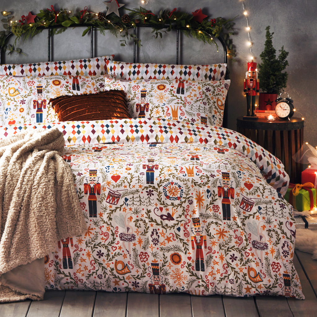 Nutcracker Duvet Cover Set