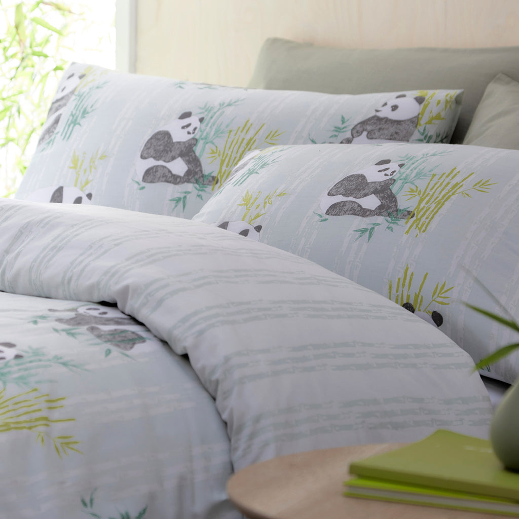 Pandas Duvet Cover Set