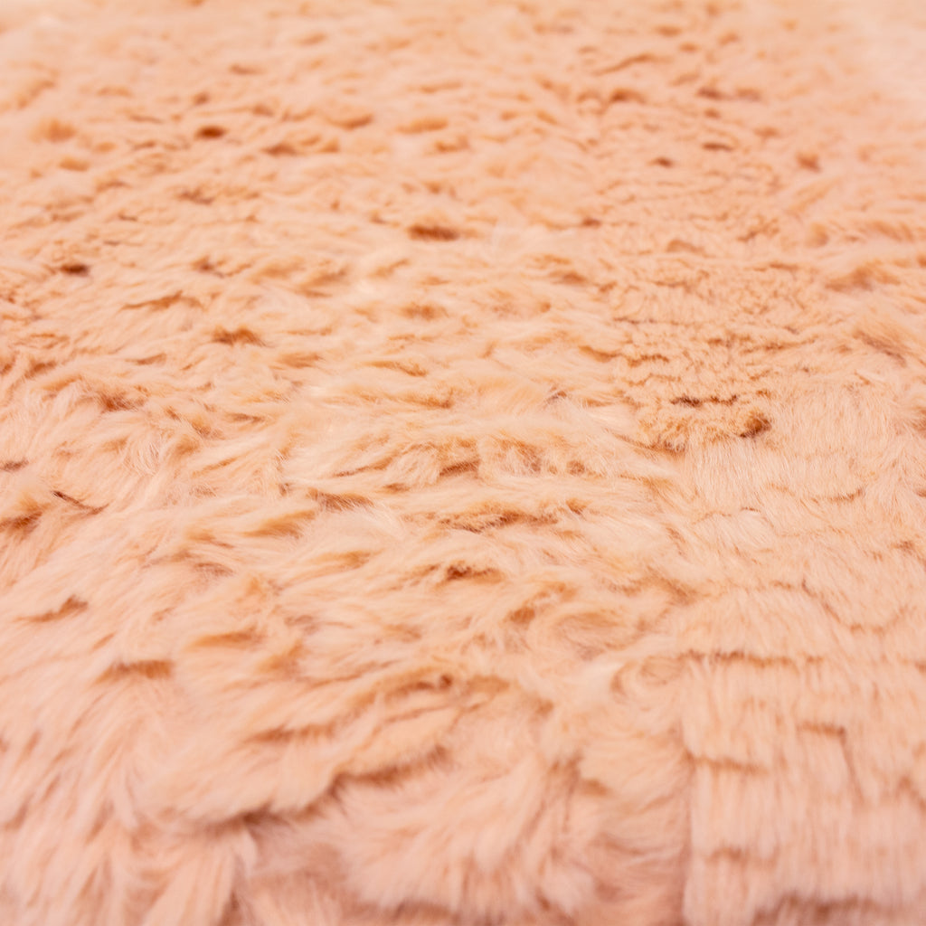 Tundra Throw in Blush Pink
