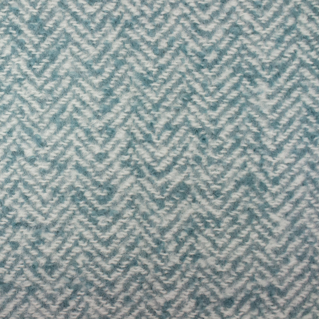 Weaver Throw in Teal