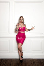 What's Good? Bodycon Skirt [FUCHSIA]