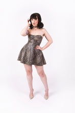 Load image into Gallery viewer, 570 Dress [FAUX LEOPARD LEATHER]
