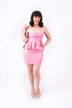 Load image into Gallery viewer, Onika Peplum Dress [NUDE PINK]