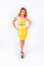 Good? Bodycon Skirt [YELLOW]
