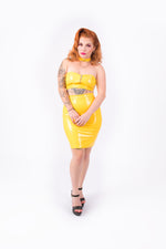 (PRE ORDER)  Good? Bodycon Skirt [YELLOW]