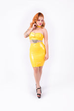 [PRE ORDER] Good? Bodycon Skirt [YELLOW]