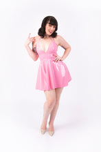 Load image into Gallery viewer, Nicki Halter Dress [NUDE PINK]