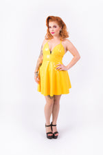 Nicki Halter Dress [YELLOW]