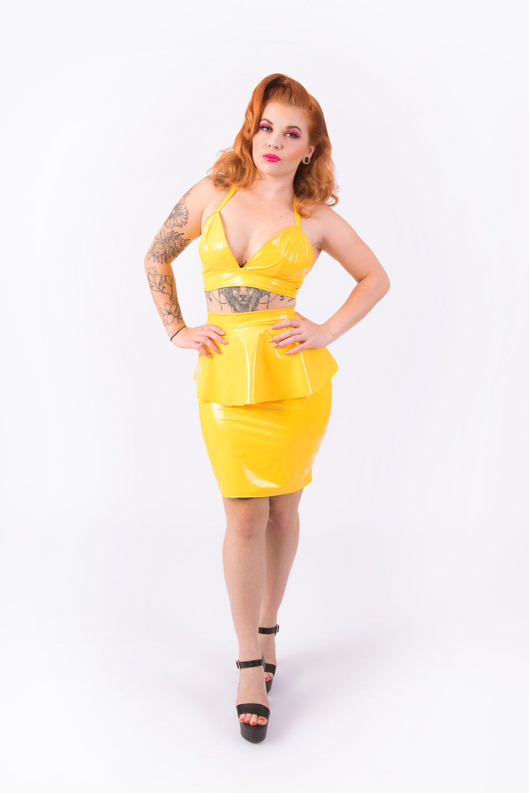 (LIMITED STOCK) Nicki Halter Top [YELLOW]