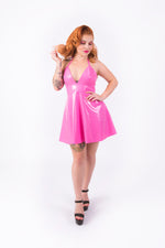 (LIMITED STOCK) Nicki Halter Dress [PINK]