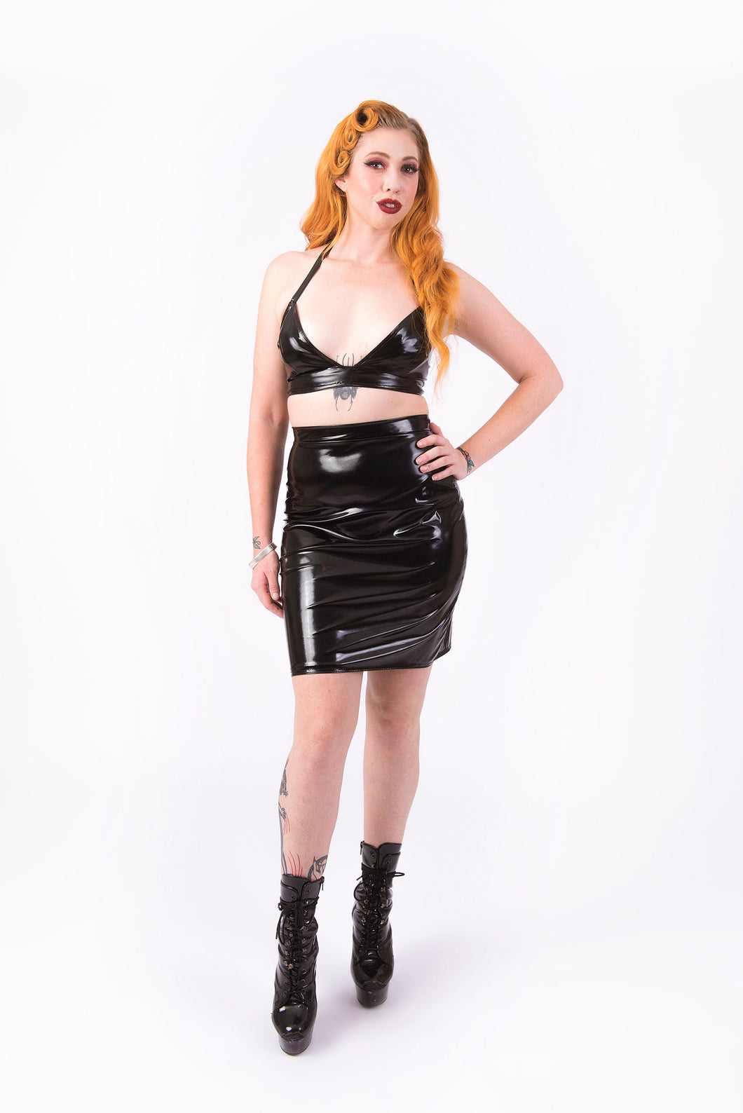 (LIMITED STOCK) What's Good? Bodycon Skirt [BLACK]