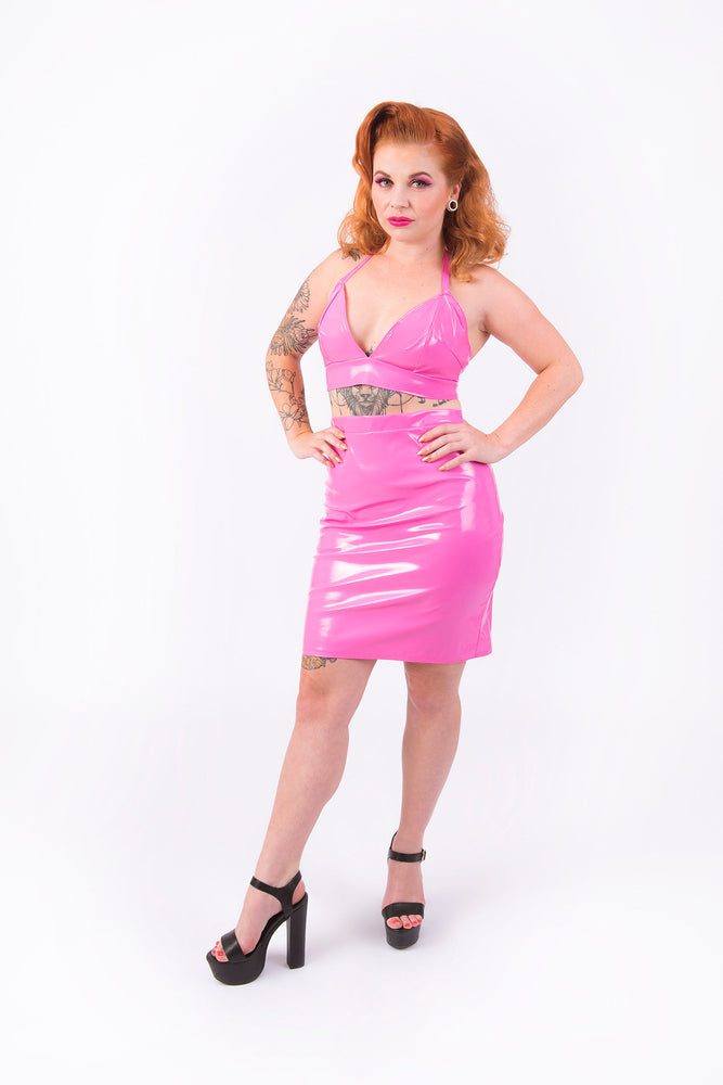(LIMITED STOCK) What's Good? Bodycon Skirt [PINK]