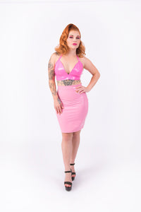 What's Good? Bodycon Skirt [NUDE PINK]