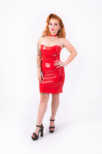 What's Good? Bodycon Dress [RED]