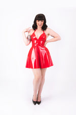 Nicki Halter Dress [RED]