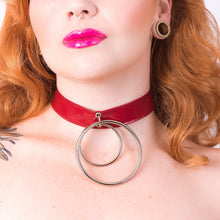 Load image into Gallery viewer, Laila Choker [BURGUNDY]