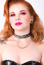 Load image into Gallery viewer, Adore Choker [FAUX LEOPARD LEATHER]