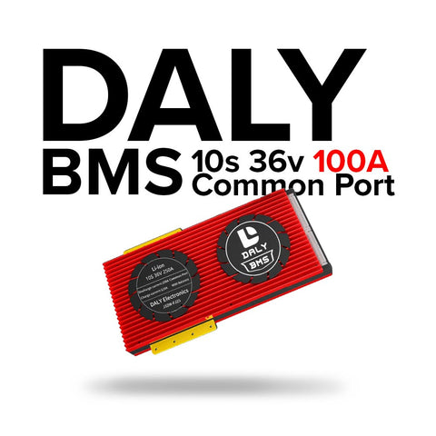 Daly BMS 17s 36v 100A Common Port, Waterproof