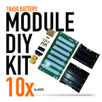 18650 Battery Module DIY PCB Kit 10x