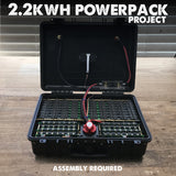 2.2kwh Powerpack Project