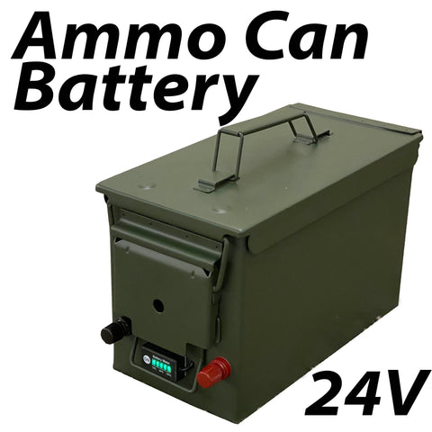 24v Ammo Can battery Kit