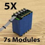 7S 24v Battery Modules - New NCR18650B cells