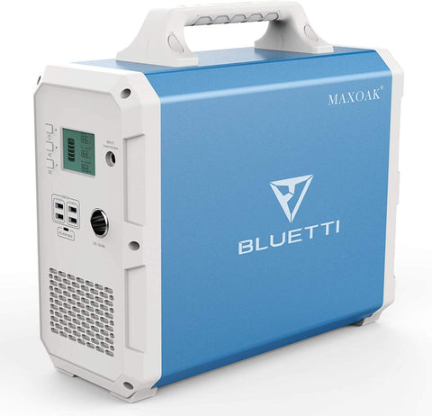 MAXOAK BLUETTI EB150 Portable Power Station 1500Wh AC110V/1000W