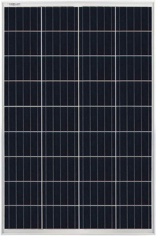 100W Solar Panel 12V-18V Poly Off-Grid Charger - Mighty Max Solar
