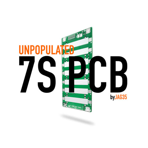 7S PCB Boards for 18650, Unpopulated