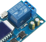 DROK Time Delay Relay Controller Board Switcher