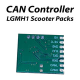 CAN Controller for  LGMH1 18650 Lithium Scooter Battery pack