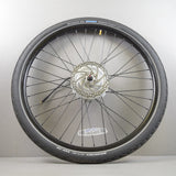 "26"" Bafang 36V DC Electric Front Bike Wheel & Tire w/ Motor + Tektro Disk Brake for DIY"